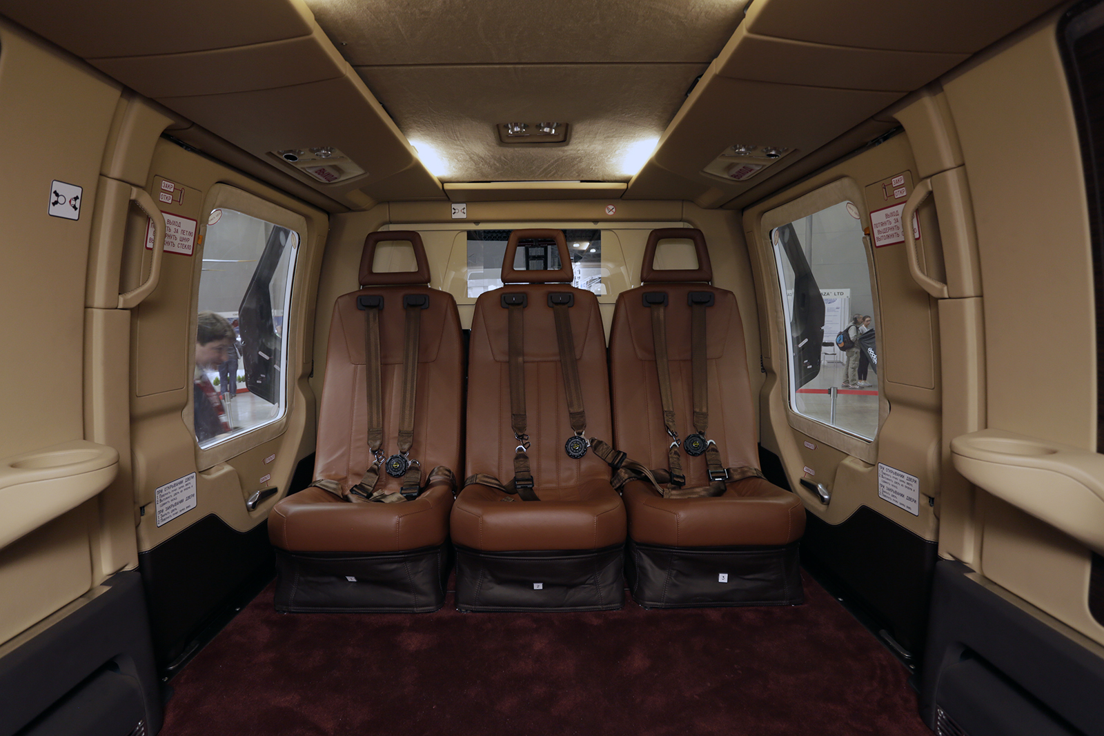 Салон вертолета Ансат